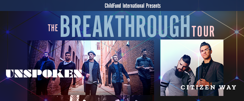 Tickets for The Breakthrough Tour | Unspoken & Citizen Way in Shelbyville from ShowClix