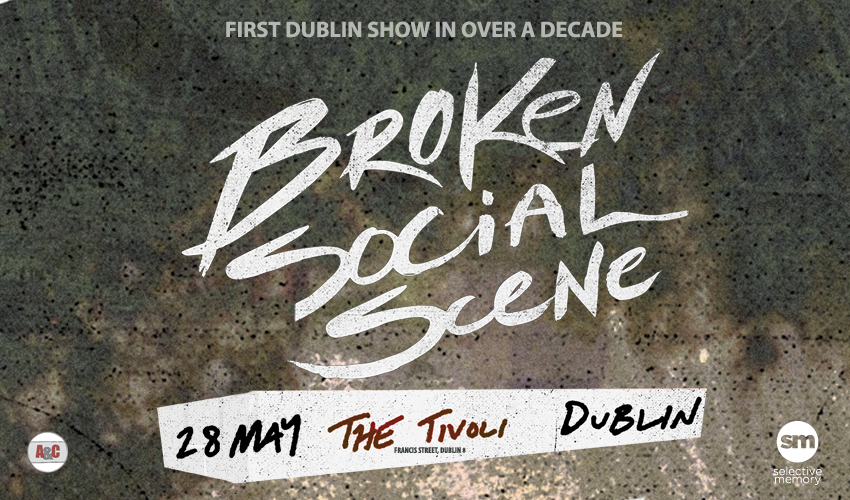 Tickets for Broken Social Scene in Dublin from Ticketbooth Europe