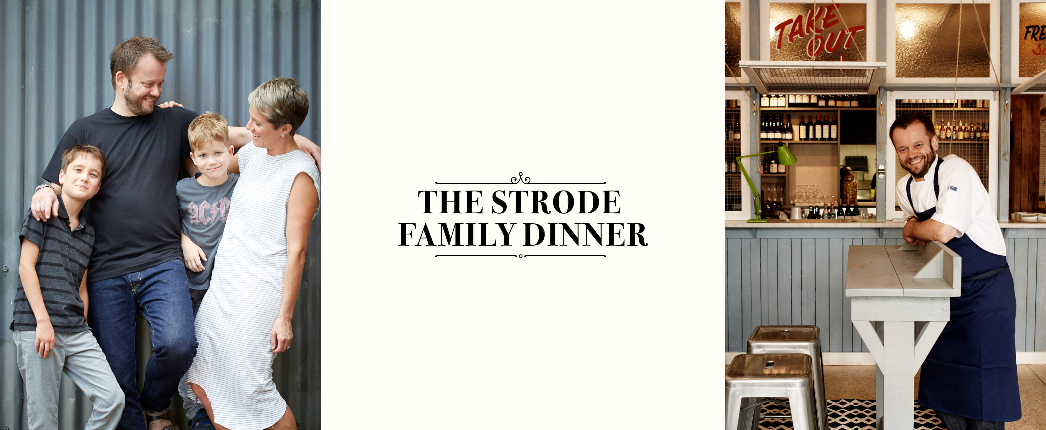 Tickets for The Strode Family Dinner in Sydney from Ticketbooth