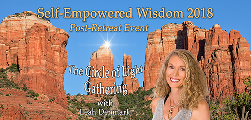 Tickets for Circle of Light Gathering with Leah Denmark in Sedona from BrightStar Live Events