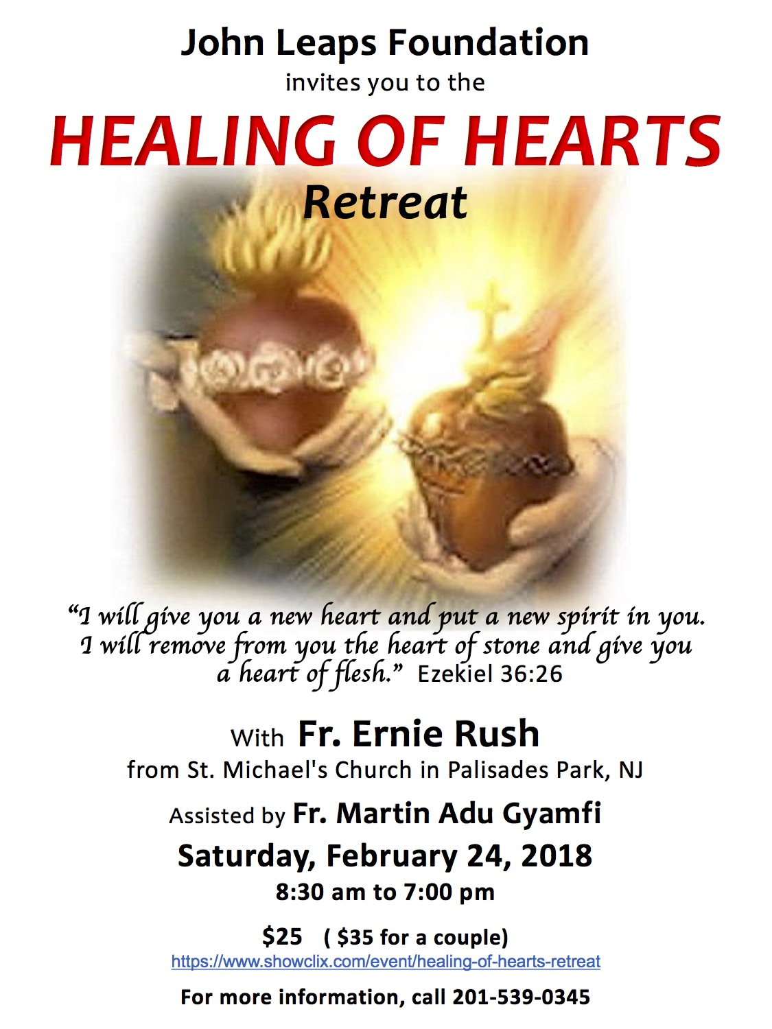 Tickets for Healing of Hearts Retreat in Emerson from ShowClix