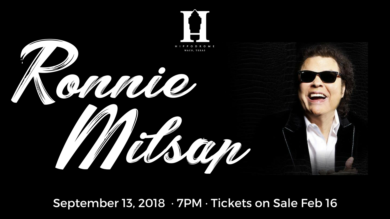 Tickets for Ronnie Milsap: Live at the Waco Hippodrome in Waco from ShowClix