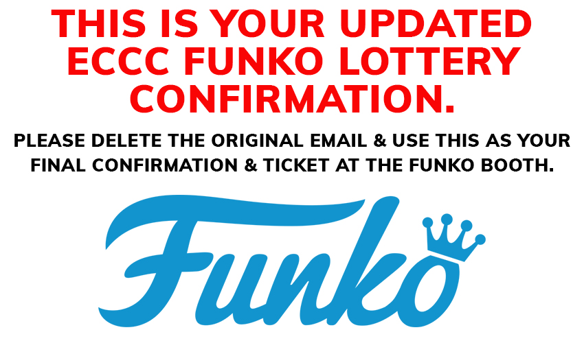 Application for Funko Exclusives @ Emerald City Comic Con 2018 from ShowClix