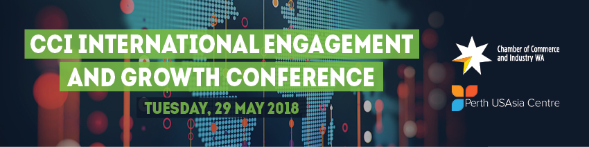 Tickets for CCI International Engagement and Growth Conference in Perth from Ticketbooth