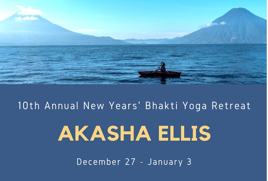 Tickets for Akasha Ellis: New Years Bhakti Yoga Retreat in Santa Cruz La Laguna from BrightStar Live Events