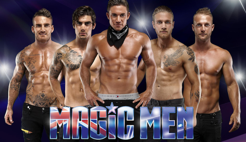 Find tickets from MAGIC MEN PROMOTER