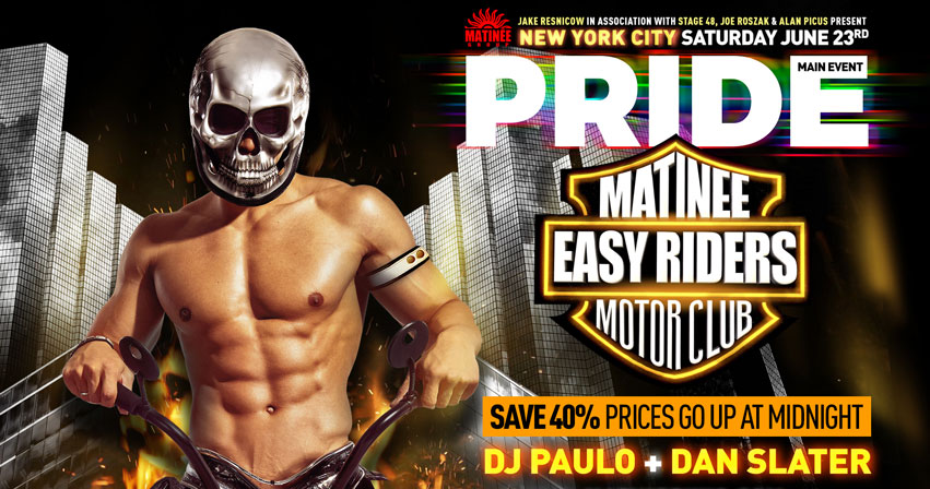 Tickets for MATINEE Main Event | PRIDE Friday | DJ Phil Romano + Nina Flowers in New York from ShowClix
