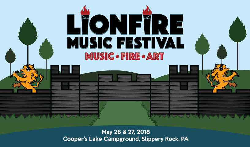 Tickets for LionFire Music Festival 2018 in Slippery Rock from ShowClix