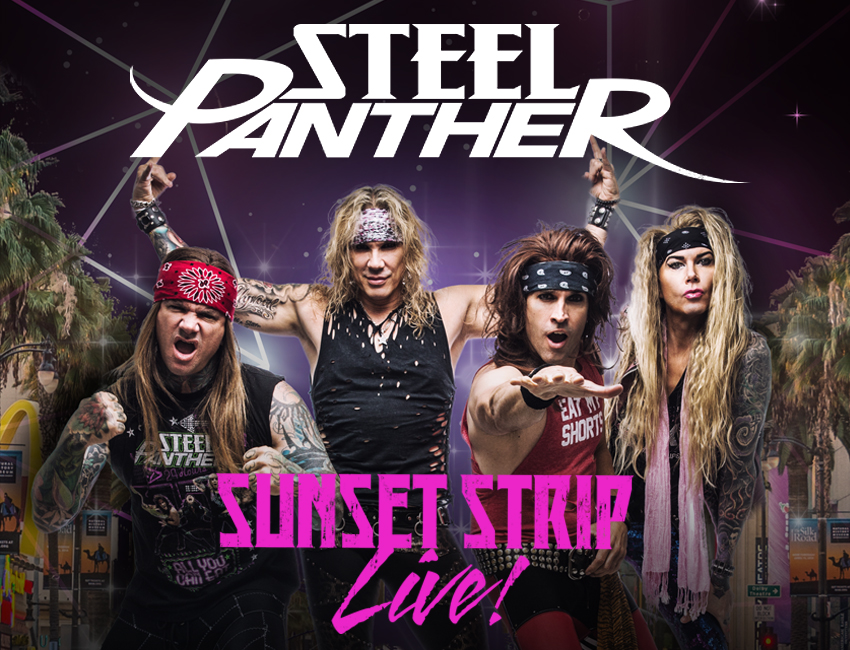Tickets for Steel Panther Sunset Strip Live VIP Experience at The Aztec Theater in San Antonio from Artist Arena