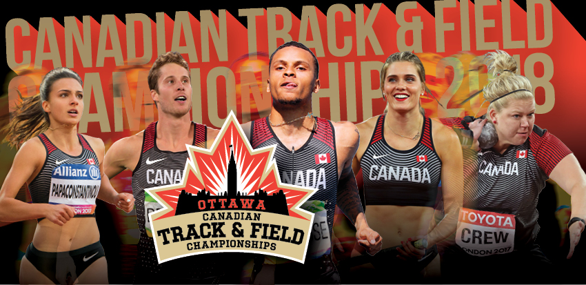 Tickets for 2018 Canadian Track & Field Championships in Ottawa from ShowClix