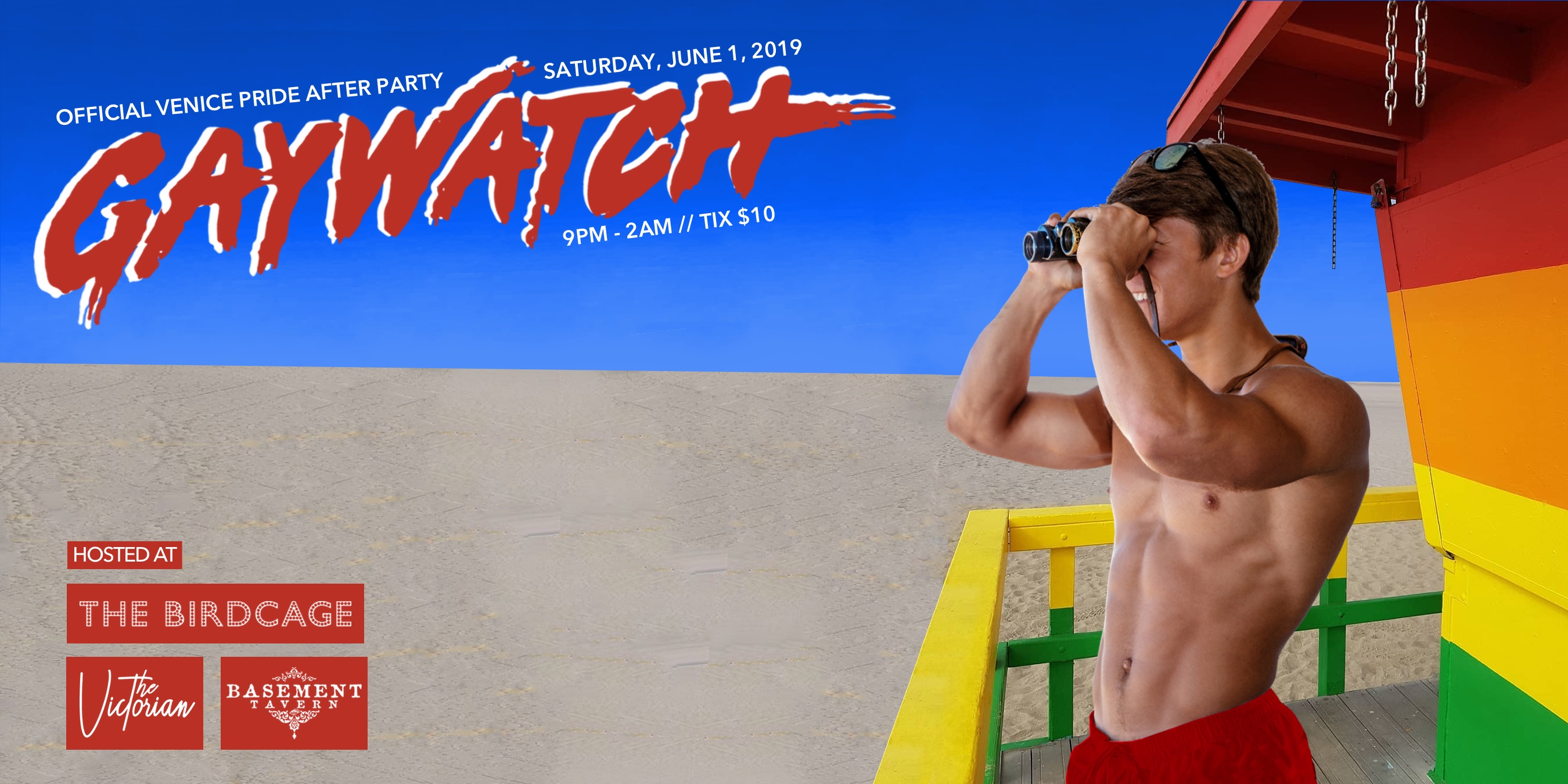 Tickets for Venice Pride 2018: Gaywatch in Santa Monica from ShowClix