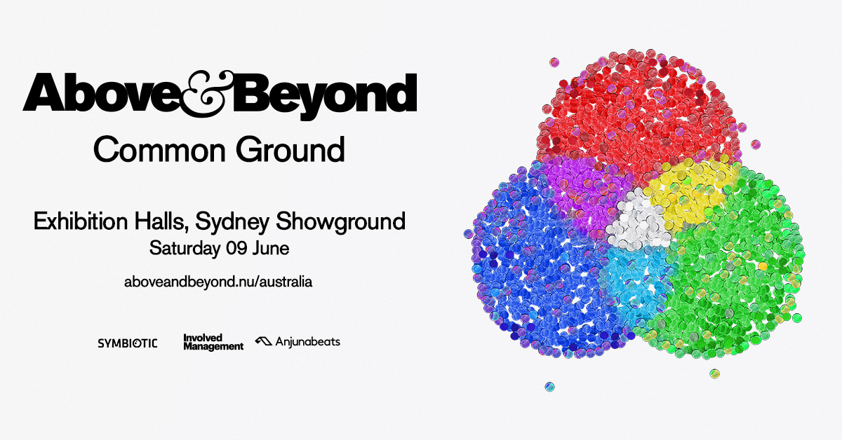 Tickets for Above & Beyond: Common Ground Sydney in Sydney Olympic Park from Ticketbooth