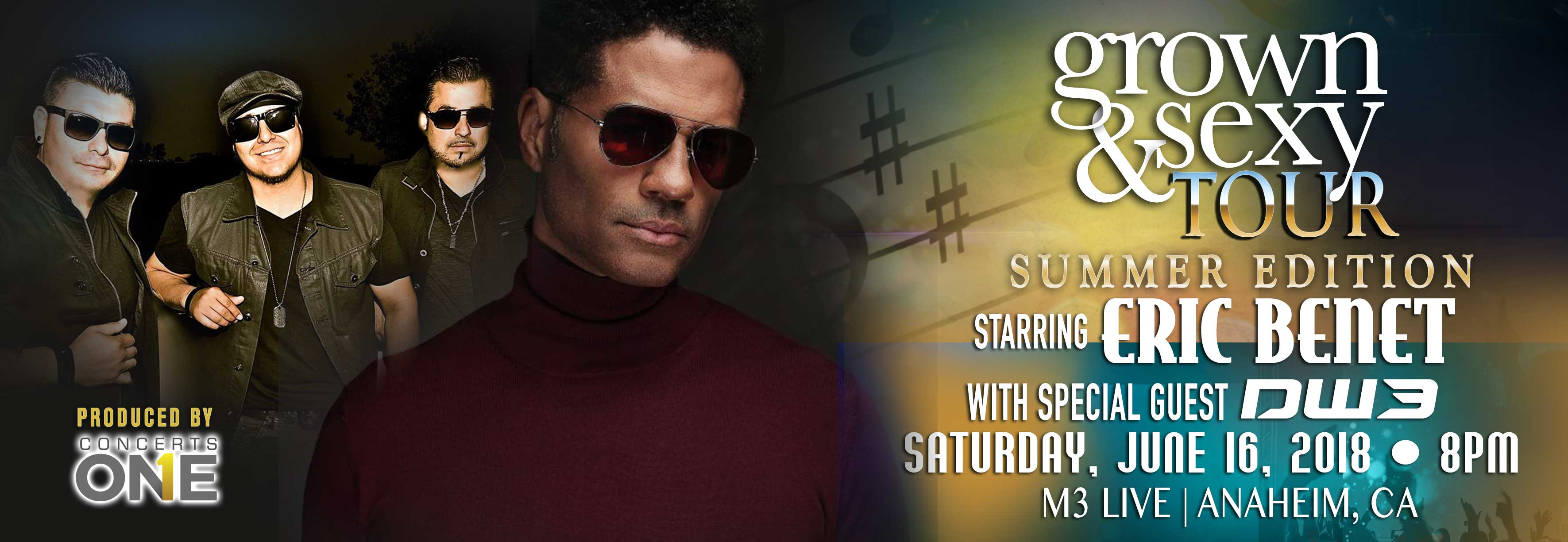 Tickets for Eric Benet In Concert. Grown & Sexy Summer Tour in Anaheim from ShowClix