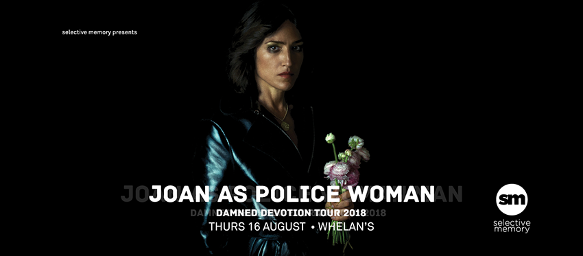 Tickets for Joan as Police Woman in Dublin 2 from Ticketbooth Europe