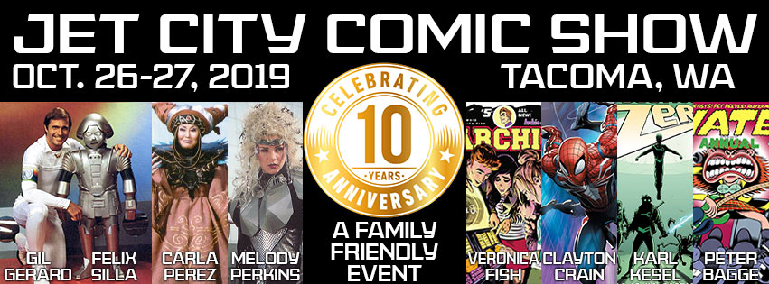 Tickets for Jet City Comic Show 2019 in Tacoma from ShowClix