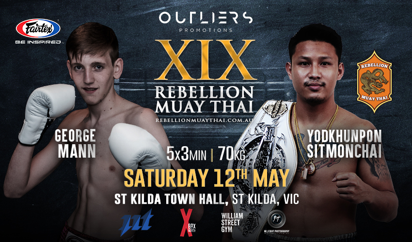 Tickets for Rebellion Muaythai 19 in St Kilda from Ticketbooth