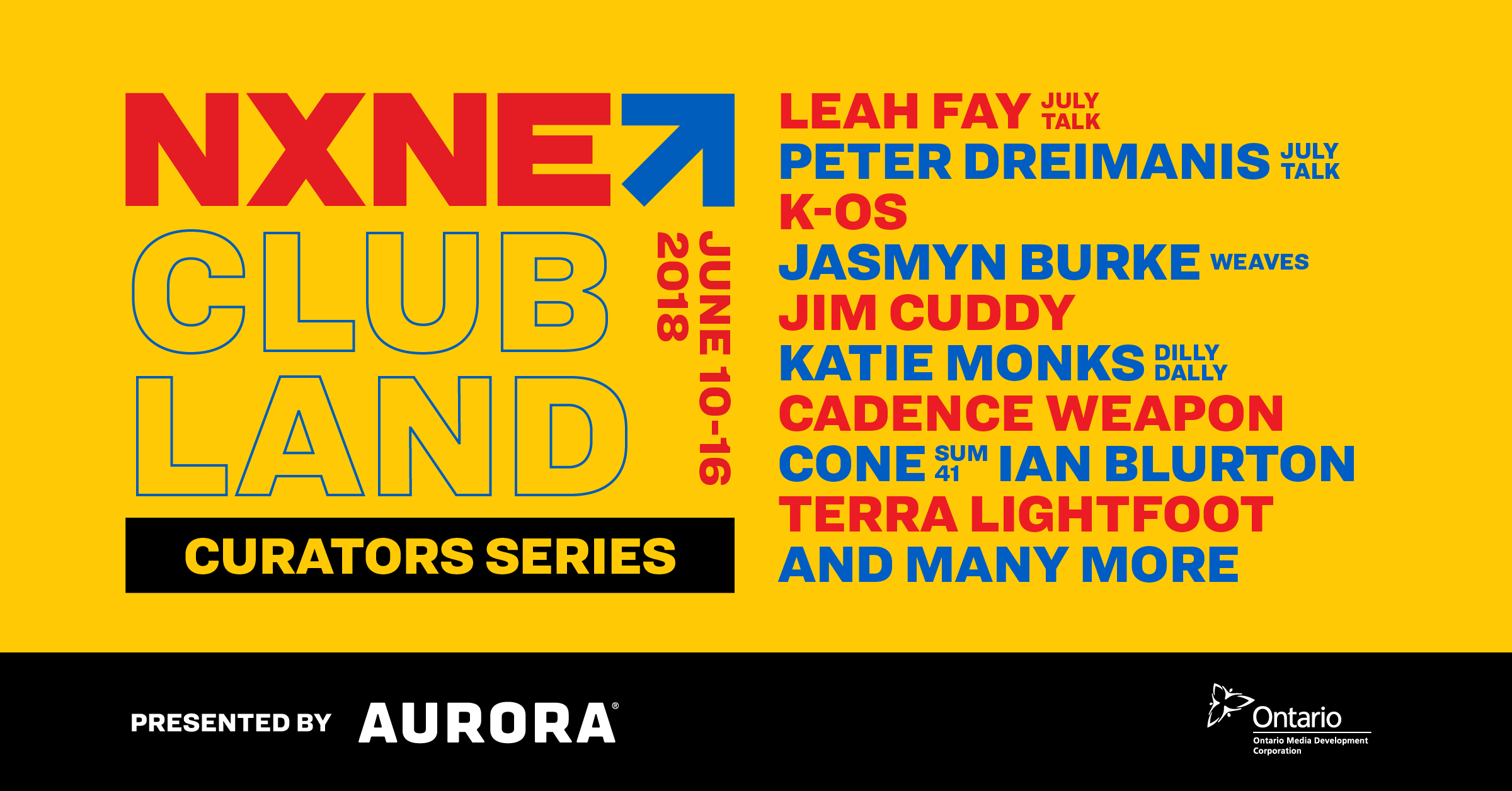 Tickets for NXNE 2018 Club Land: Curator Series in Toronto from ShowClix