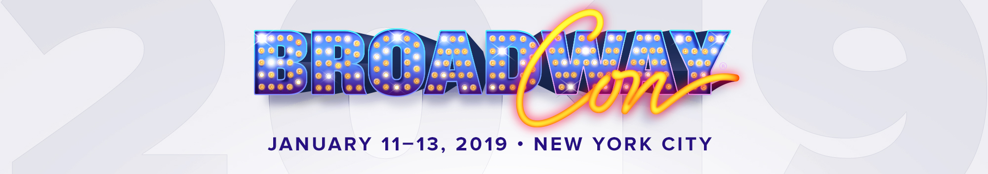 Tickets for BroadwayCon 2019 in New York from ShowClix