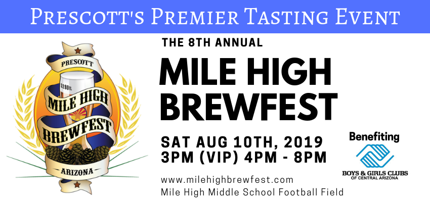 Tickets for Mile High Brewfest in Prescott from BeerFests.com