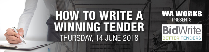 Tickets for WA Works: How to Write a Winning Tender in East Perth from Ticketbooth