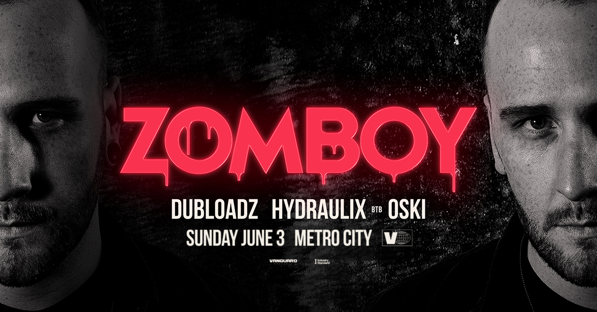 Tickets for Vanguard Presents Zomboy. Dubloadz + more.  in Northbridge from Ticketbooth
