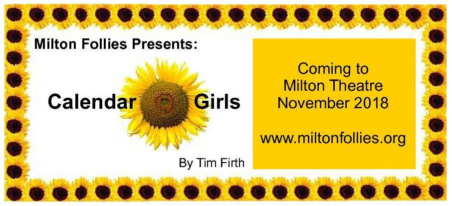 Tickets for Calendar Girls in Milton from Ticketbooth
