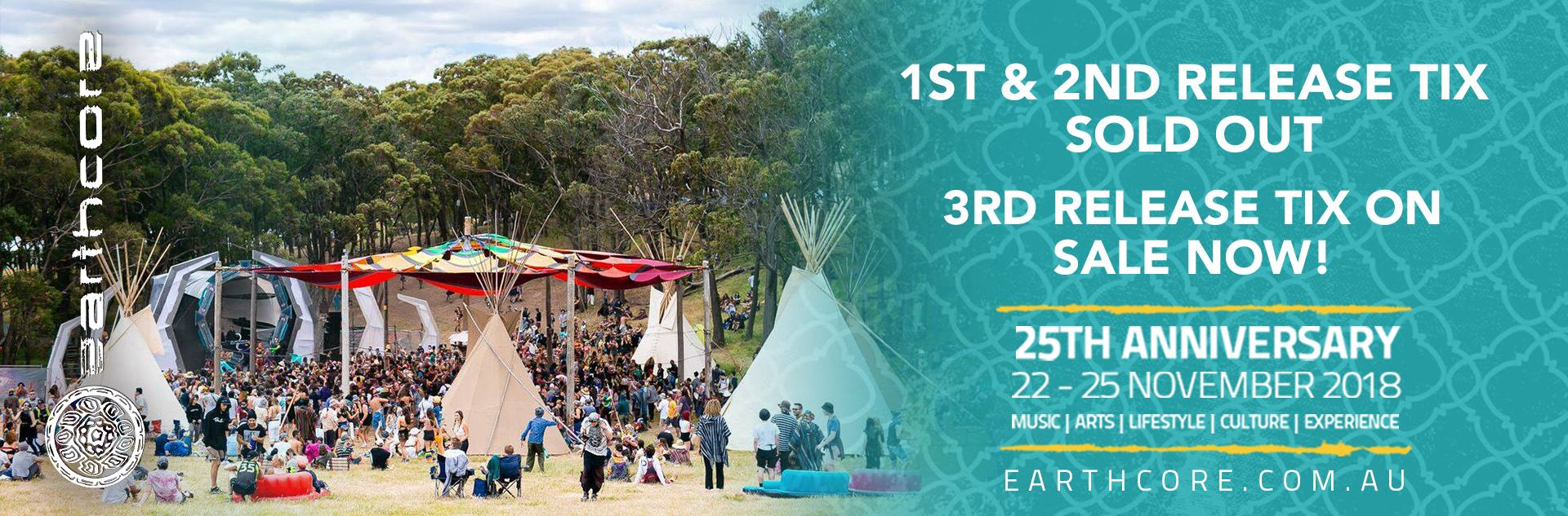 Find tickets from Earthcore Events
