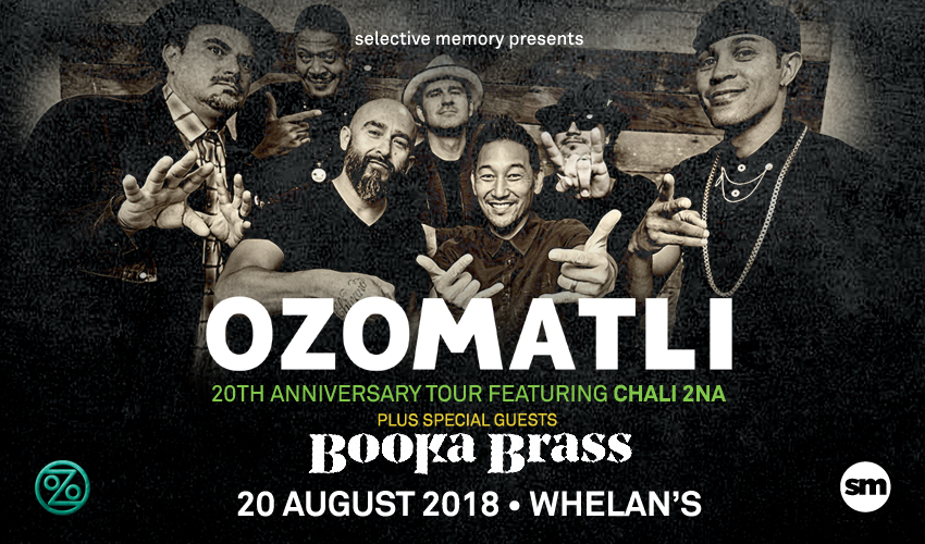 Tickets for Ozomatli in Dublin 2 from Ticketbooth Europe