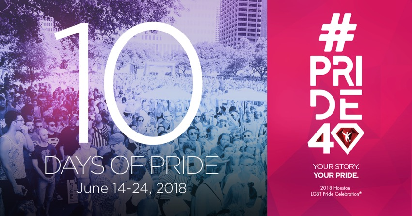 Tickets for #Pride40 | Celebration VIP  in Houston from ShowClix