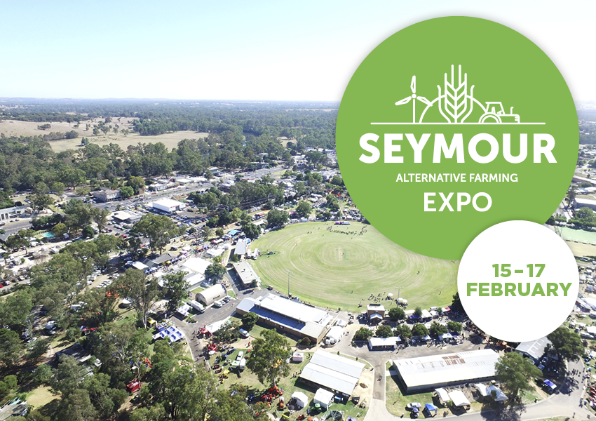 Tickets for 2019 Seymour Alternative Farming Expo in Seymour from Ticketbooth