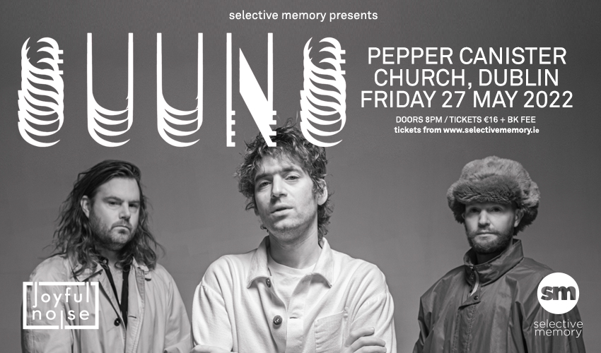 Tickets for SUUNS in Dublin from Ticketbooth Europe