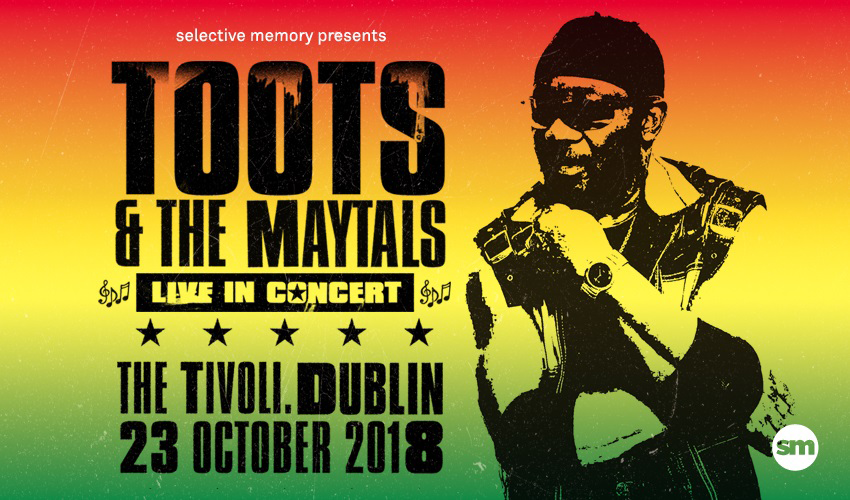 Tickets for Toots & The Maytals in Dublin from Ticketbooth Europe