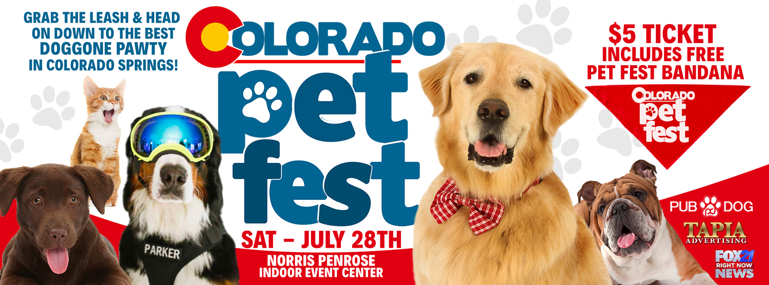 Tickets for Pet Fest in Colorado Springs from ShowClix
