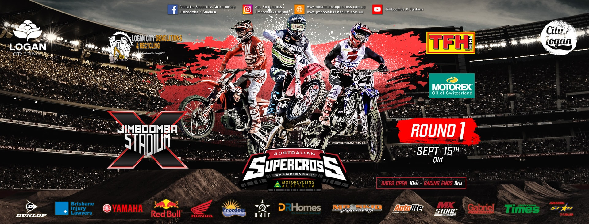 Tickets for Australian Supercross Championship Round 1: Jimboomba in Jimboomba from Ticketbooth