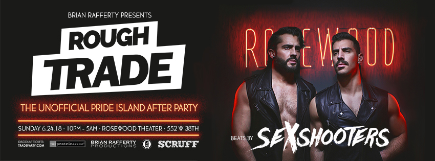 Tickets for ROUGH TRADE PRIDE SUNDAY w/SEXSHOOTERS [UK] in New York from ShowClix