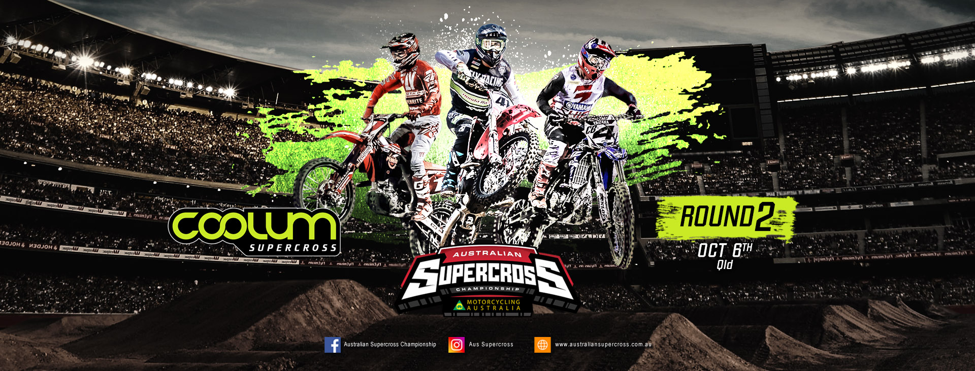 Tickets for Australian Supercross Championship Round 2: Coolum in Coolum Beach from Ticketbooth