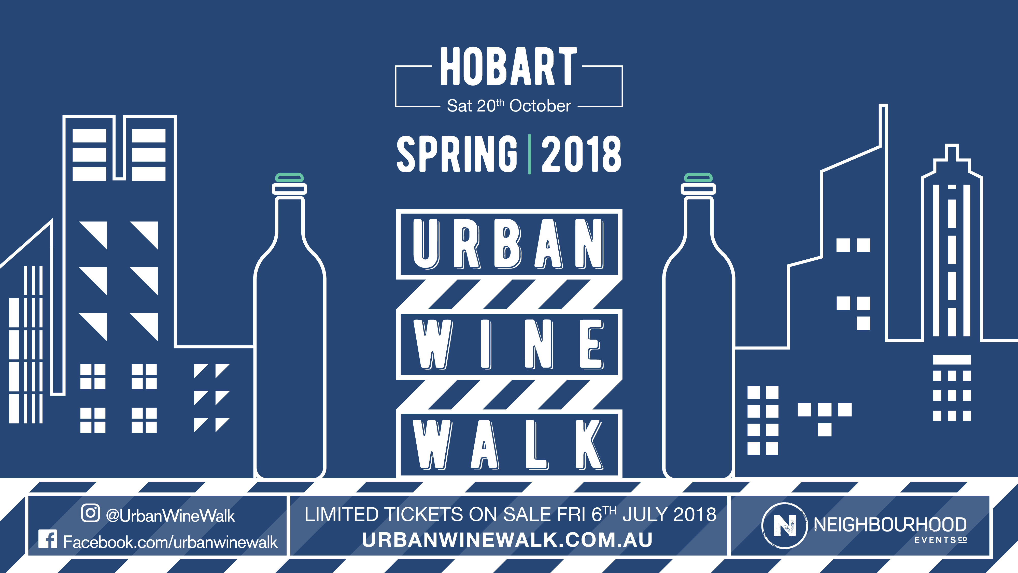 Tickets for Urban Wine Walk Hobart in Hobart from Ticketbooth