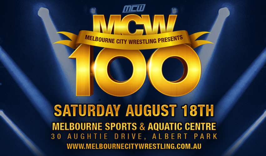 Tickets for Melbourne City Wrestling Presents MCW 100 in Albert Park from Ticketbooth