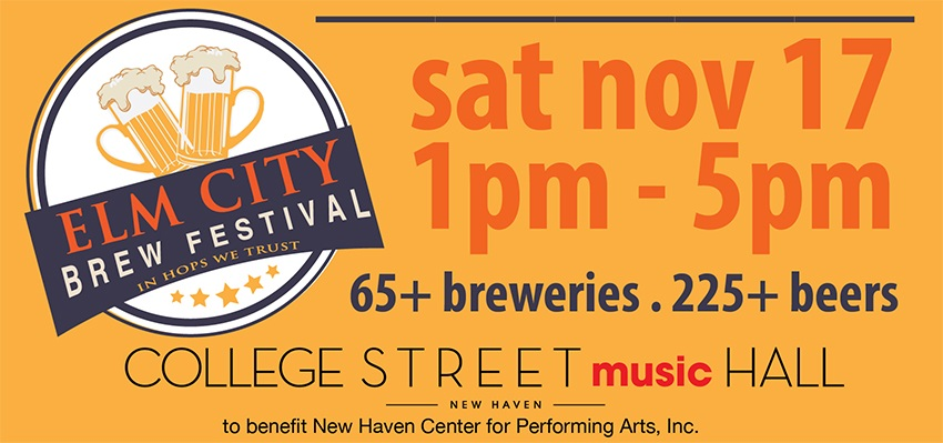 Tickets for Elm City Brew Fest 2018 in New Haven from BeerFests.com