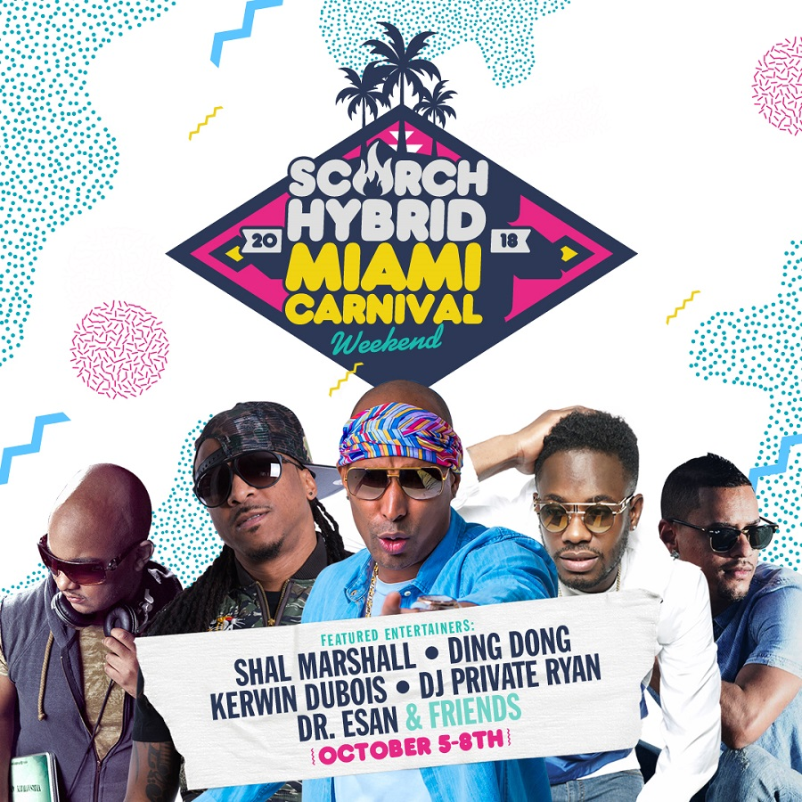 Tickets for SCORCH Hybrid Miami Carnival Weekend in Miami from ShowClix