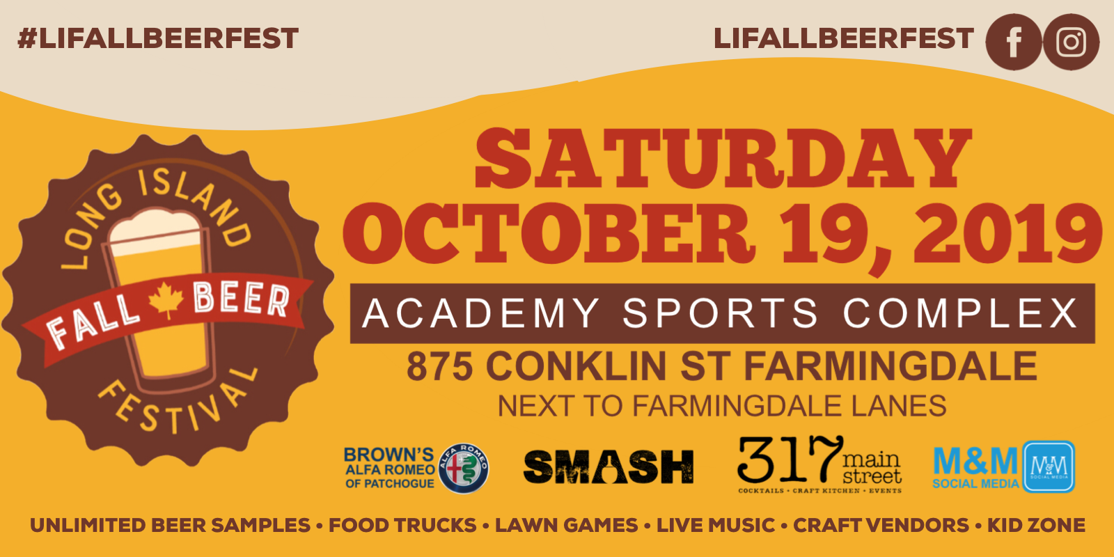 Tickets for Long Island Fall Beer Festival 2019 in Farmingdale from ShowClix