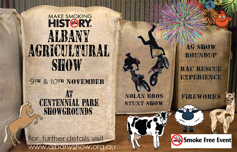 Tickets for Albany Agricultural Show 2018 in ALBANY from Ticketbooth