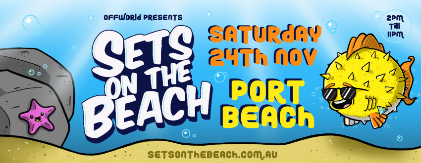 Tickets for Sets on the Beach in North Fremantle from Ticketbooth