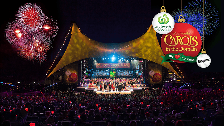 Tickets for WOOLWORTHS CAROLS IN THE DOMAIN in Sydney from Ticketbooth