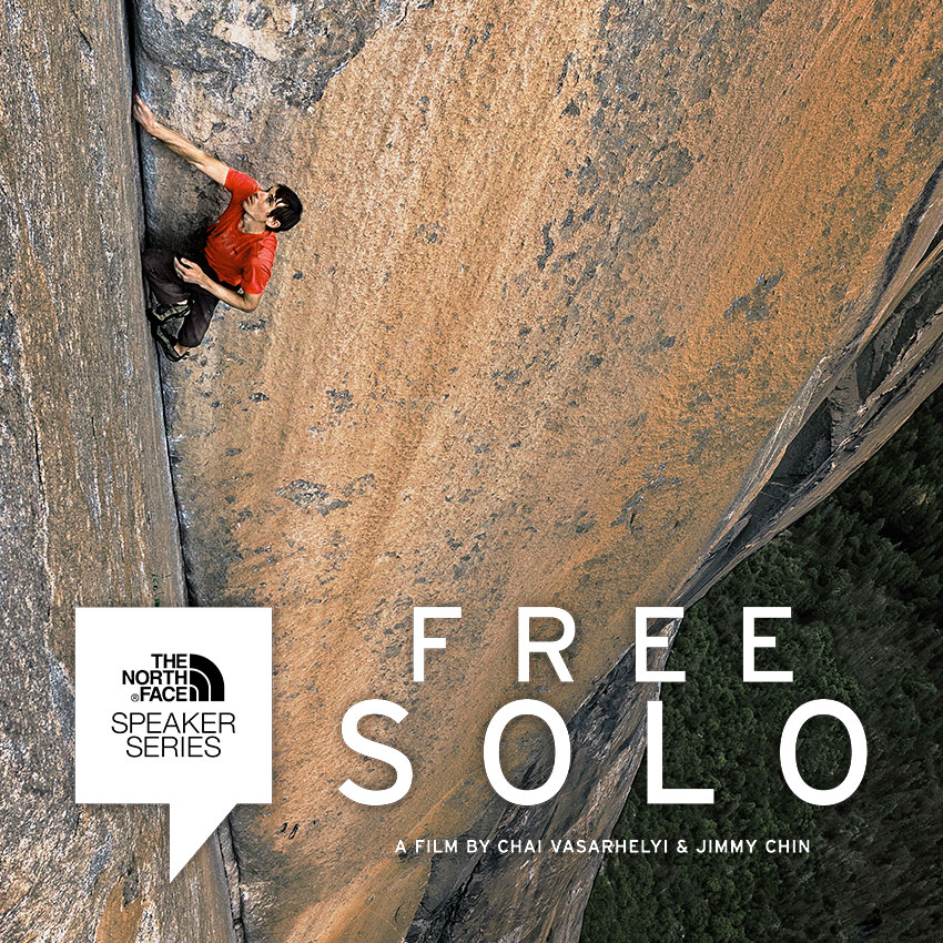 Tickets for The North Face Speaker Series, Free Solo in San Francisco from ShowClix