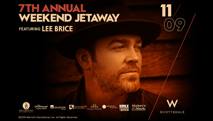 Tickets for 7TH ANNUAL WEEKEND JETAWAY FEATURING LEE BRICE & AFTER PARTY WITH LOUD LUXURY in Scottsdale from SLE TIX
