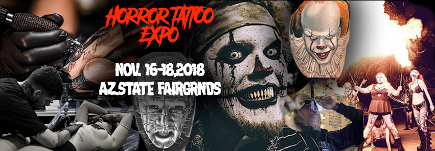Application for Horror Tattoo Expo Vendor Event in Phoenix from ShowClix