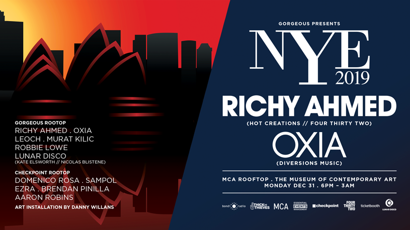 Tickets for Gorgeous presents NYE 2019 I RICHY AHMED I OXIA in The Rocks from Ticketbooth