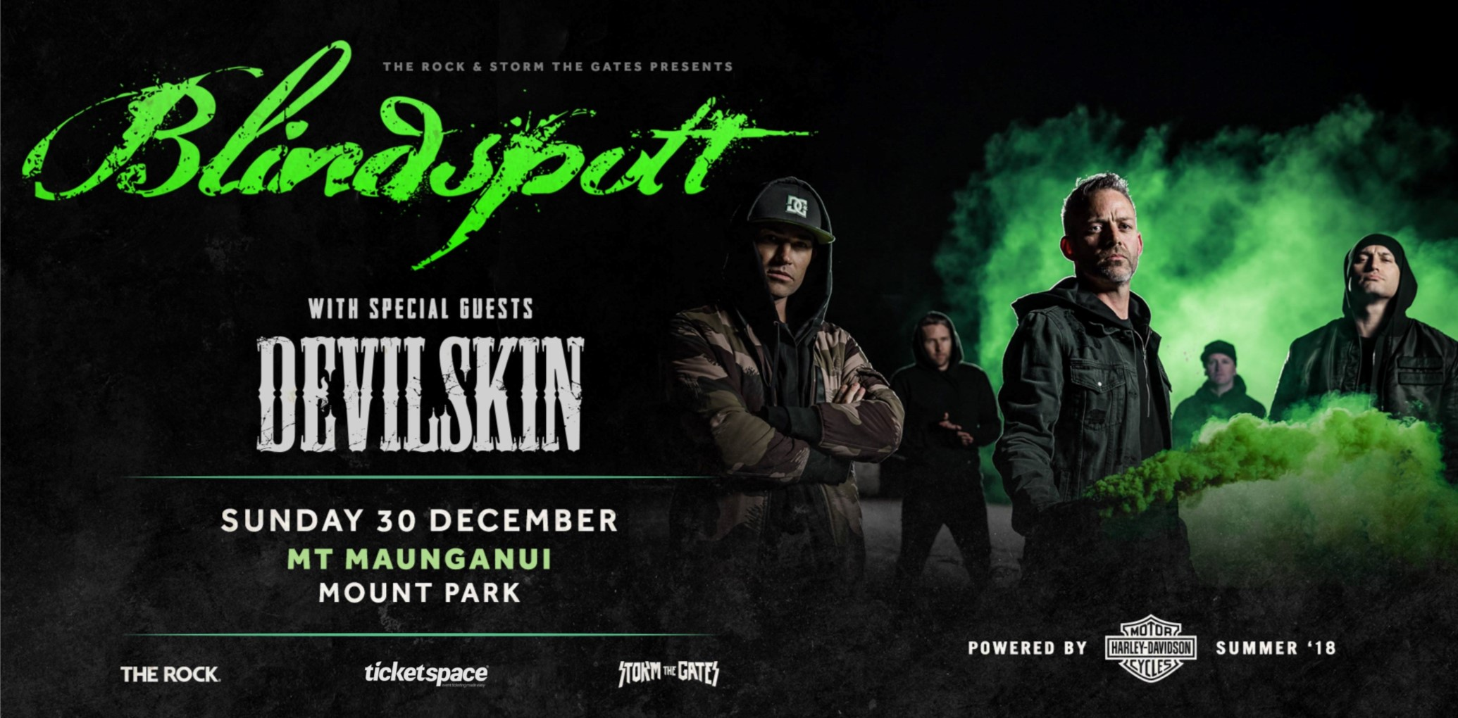 Tickets for BLINDSPOTT & DEVILSKIN - Mt. Maunganui in Mount Maunganui from Ticketspace