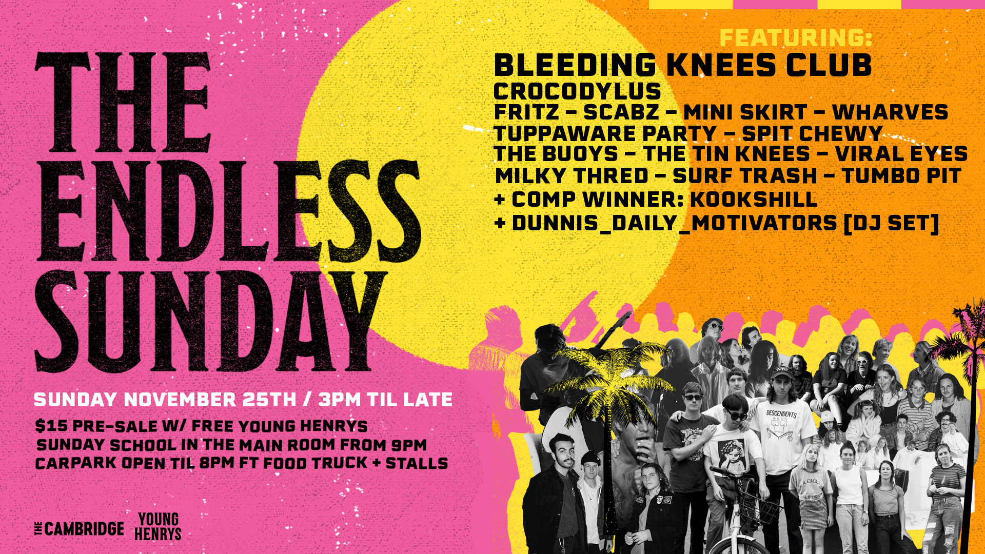 Tickets for THE ENDLESS SUNDAY in Newcastle from Ticketbooth